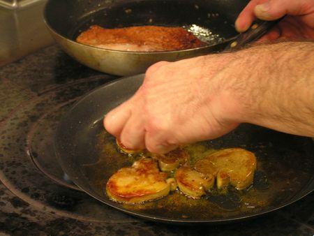 2012 11 29 cours de cuisine sur la truffe -Auberge de la truffe de Sorges (8)