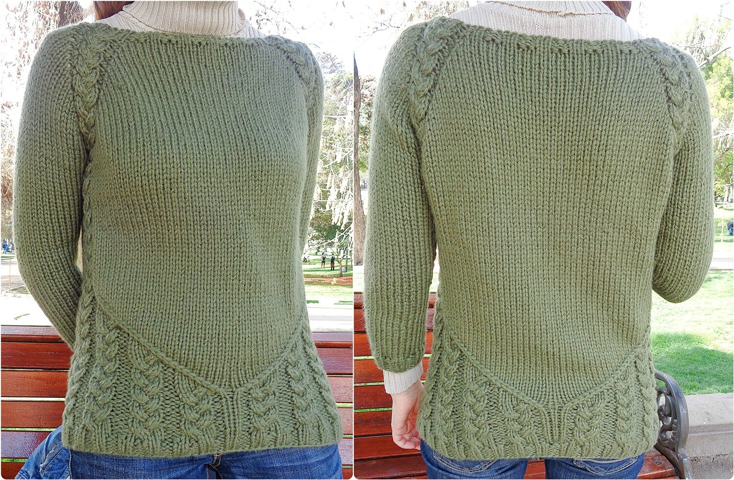 Grain of Sand Sweater de Gabrielle Vézina