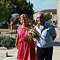 Patricia emmenée à la Mairie par son papounet