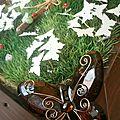 plan de table mariage nature papillon
