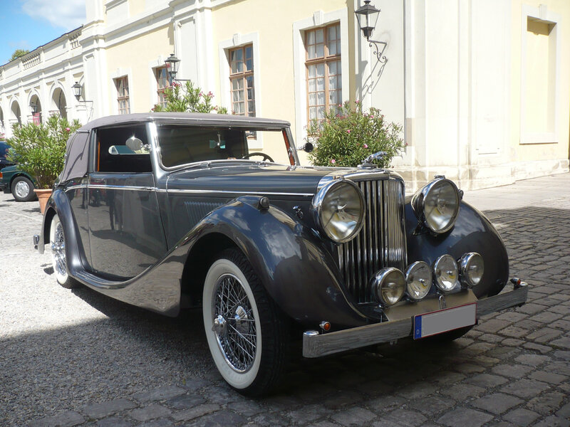 JAGUAR Mark IV 3 1-2 Litre drophead coupé 1948 Ludwigsburg (1)