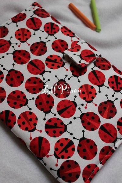 pochette ardoise Ladybug