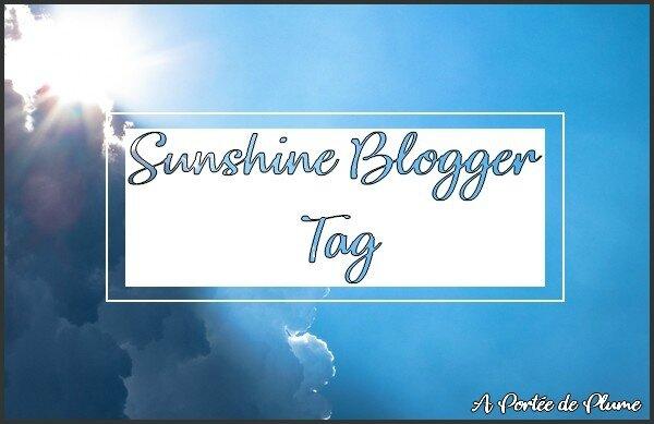 Sunshine Blogger Tag 2