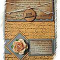 carte anniv' 30