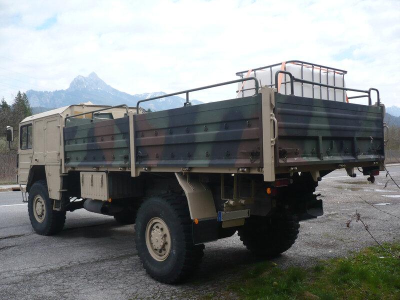 MAN Kat 1 4x4 camion militaire tout terrain Vils (2)