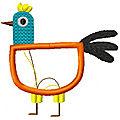 Une nouvelle poule
