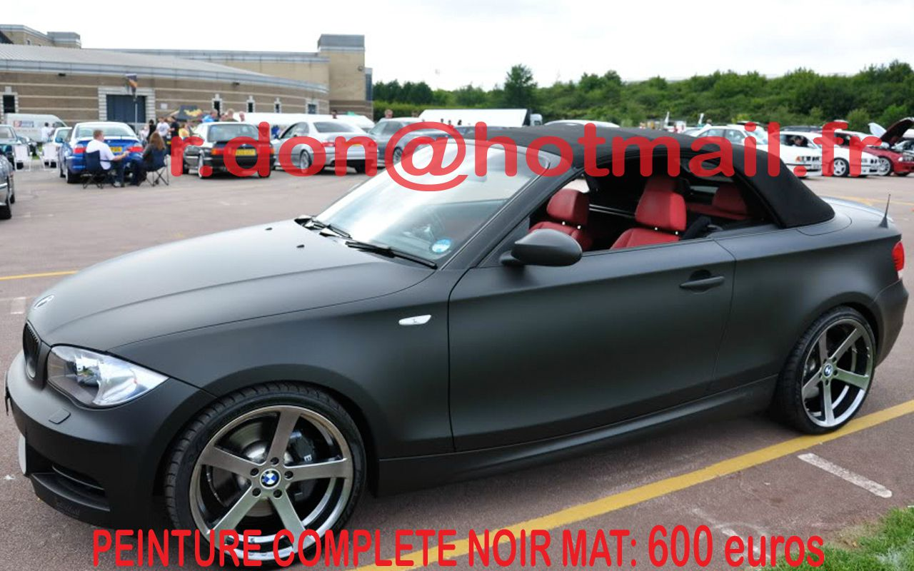 Bmw Serie 1 Bmw Serie 1 Bmw Serie 1 Total Covering Noir