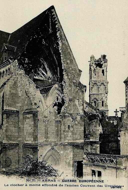 Arras couvent des Urselines