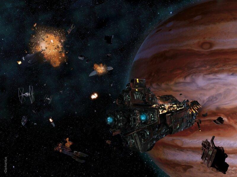 star wars vendetta convoi de cargos détruit