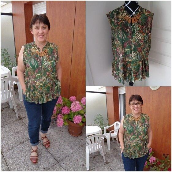 la blouse jungle