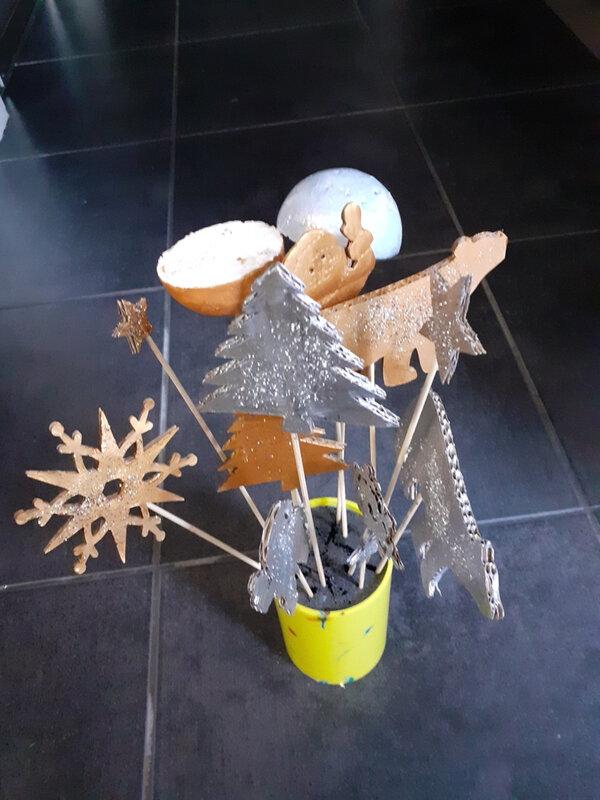 366-Noël et Nouvel an- Déco de table Noël (24)