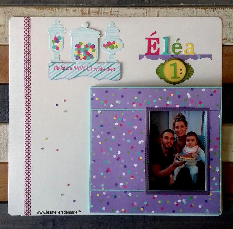 Une photo peut en cacher une autre Eléa 1 an