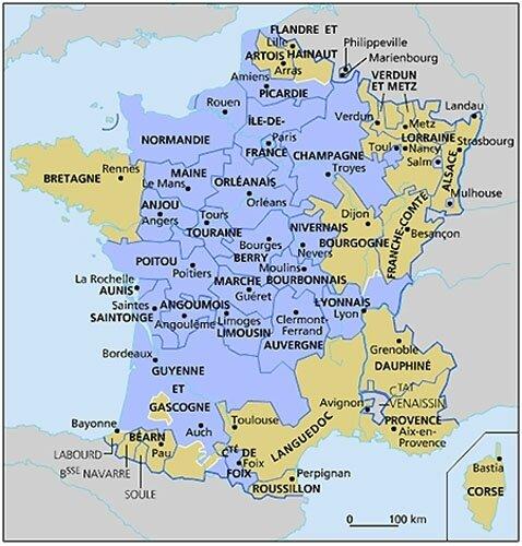 La France avant la révolution