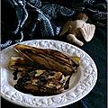 Foie gras de canard poêlé, endives caramélisées, sauce expresso