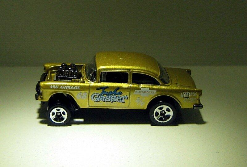 Chevrolet bel air gasser de 1955 (Hotwheels 2013) 02