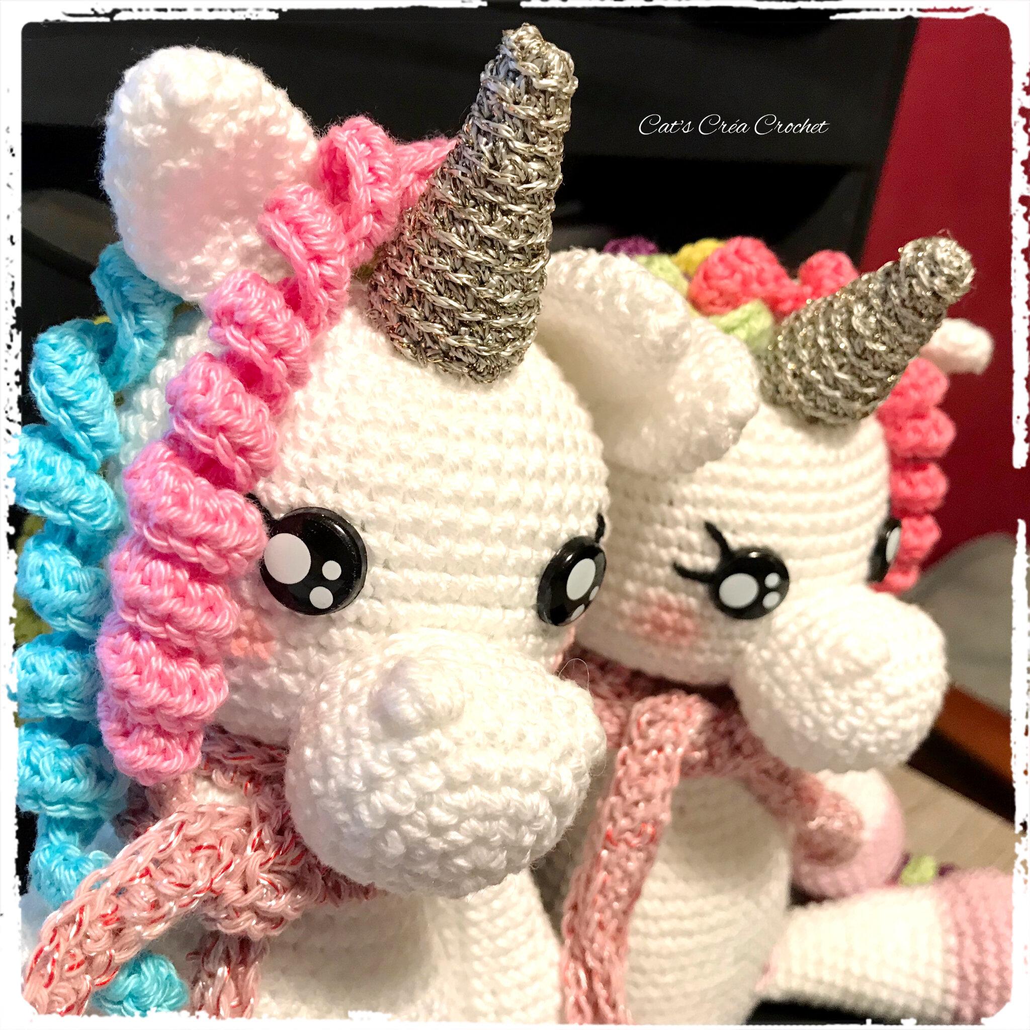 Licorne Kawaii Cats Créa Crochet
