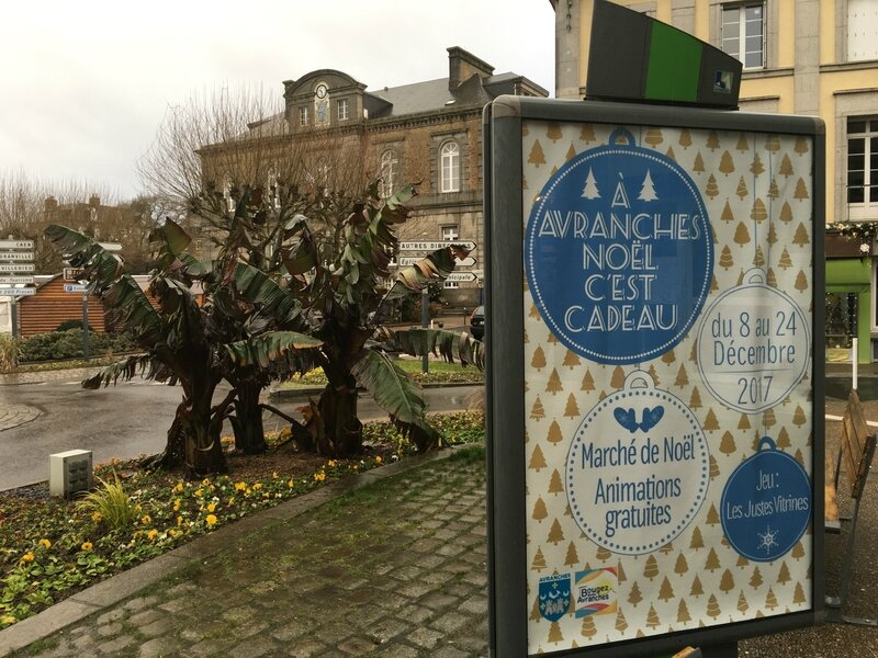 Avranches marché Noel 2017 affiche
