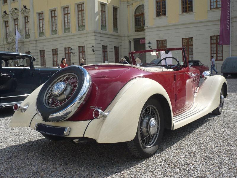 DELAGE type D6-60 roadster Export 1936 Ludwigsburg (2)