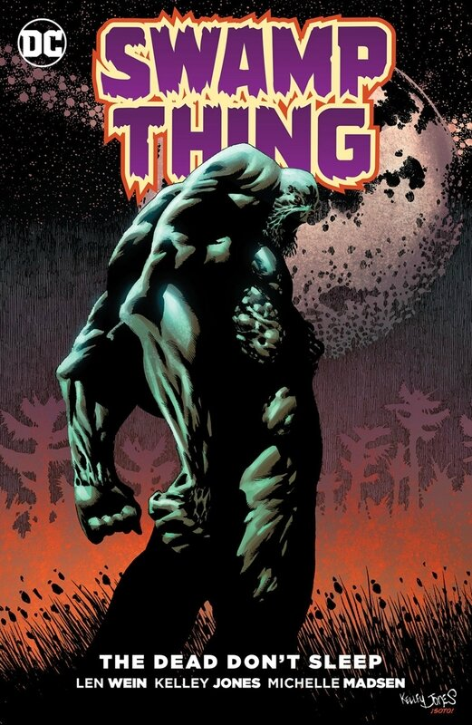 new 52 swamp thing the dead don(t sleep TP