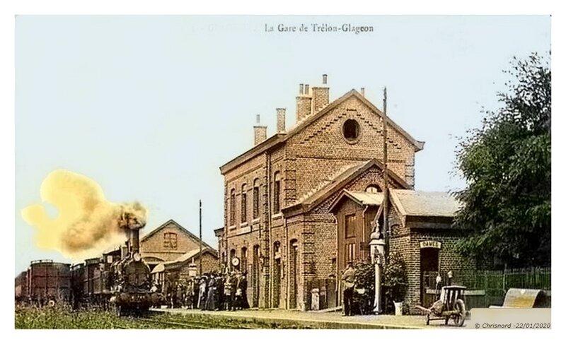TRELON - La Gare de Trélon-Glageon