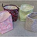 Pochons et lingettes lavables 2