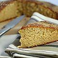 Gâteau (express) au lait de coco et sans beurre !