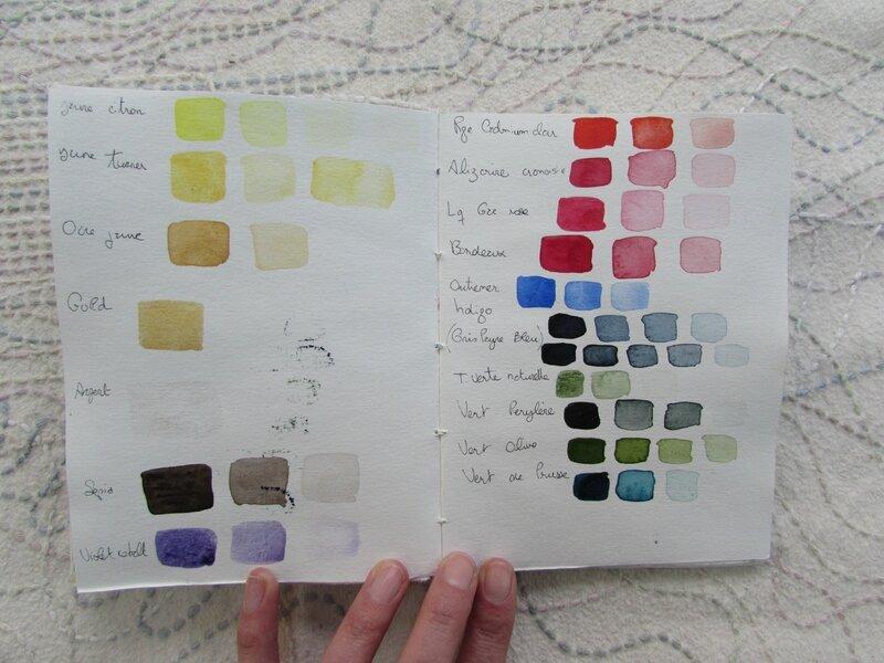 carnet couleurs