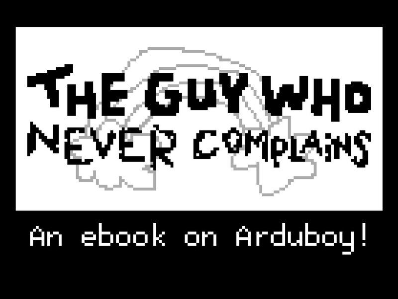 The Guy Who 24x18cm