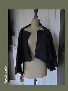 veste asymétrique vogue