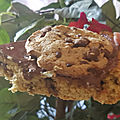 Tarte façon cookie à la pâte à tartiner