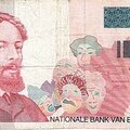 1995 100francs recto Le Peintre James Ensor 1860 1949