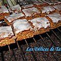 Carrés épicés de bâle (bäsler-leckerlis)