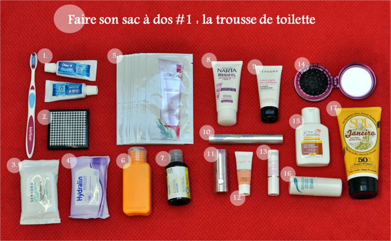 faire son sac toilette 1