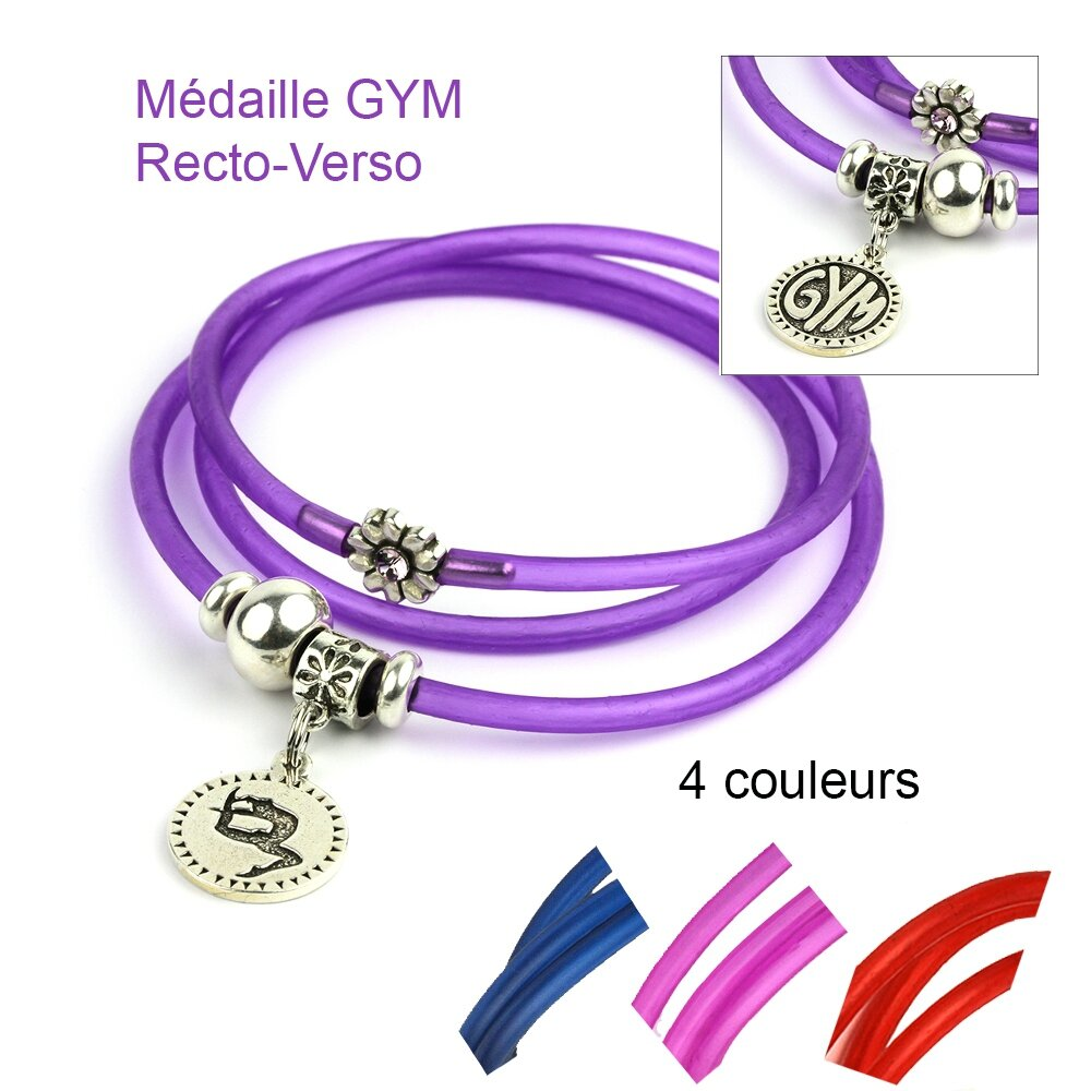 bracelet mia couleurs gym
