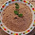 Rillette de sardine à la tomate et ricotta ou sauce dips de sardine pour légumes crus