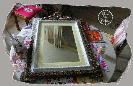 Relookage de Cadre Miroir dans l'Esprit Gustavien (7)