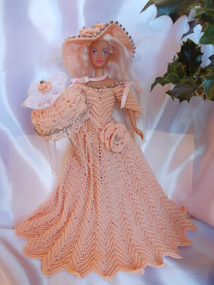 Jade, tenue barbie au crochet