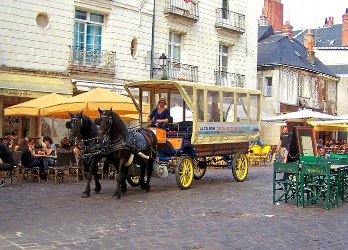 Wagonette mixte Tours