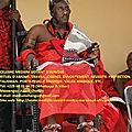 Fête du vodoun (journée nationale des cultes) au bénin-chango grand maître marabout d'afrique et du monde