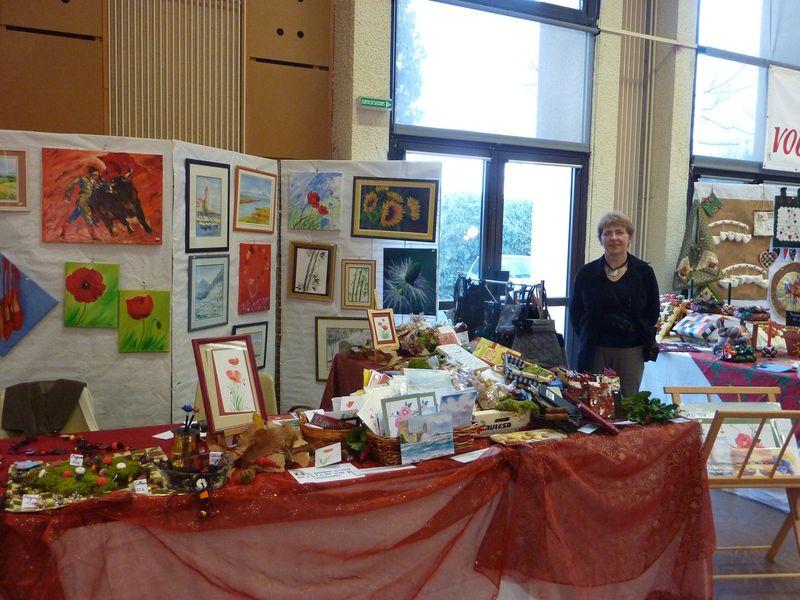 Salon du Fait Main à Elne - 5 Décembre 2009