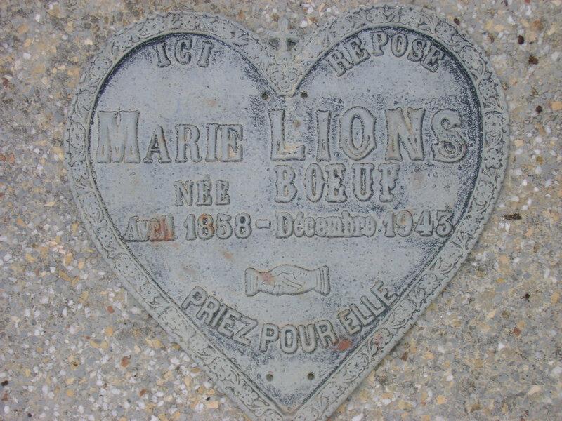 212 - Tombe de Marie Lions