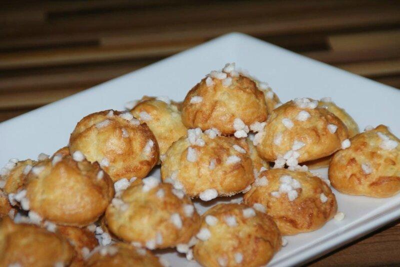 Chouquettes sans gluten 3