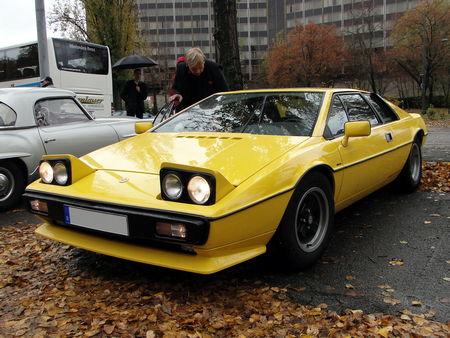 LOTUS Esprit S2 1978 à 1981 Retrorencard 1