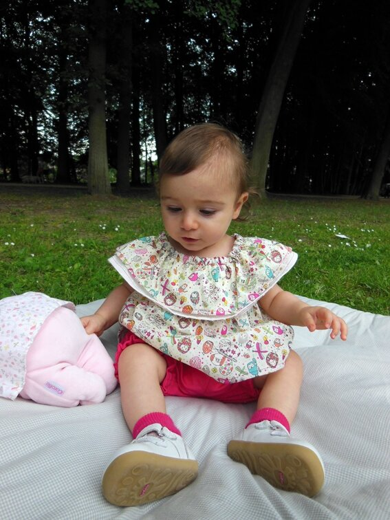 Tenue cookie et cupcake Lou&me12M 1-12