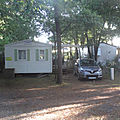 Landes - pays basque - location mobil-home