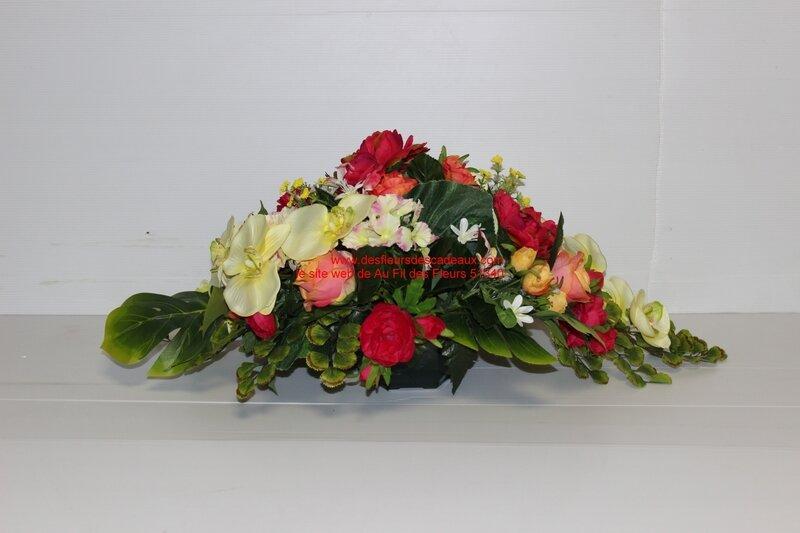 coupe de fleurs artificielles très belle qualité (7)