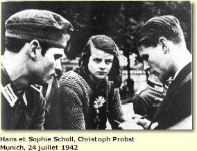 12 Sohie Scholl, la rose blanche décapitée