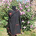 manteau de portage + doublure amovible mi longue (noir et rouge, prune et bordeau) (2)