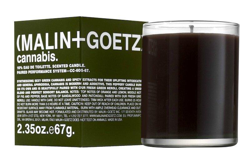 malin + goetz bougie cannabis