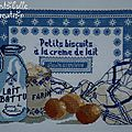 Plateau petits biscuits - détail broderie